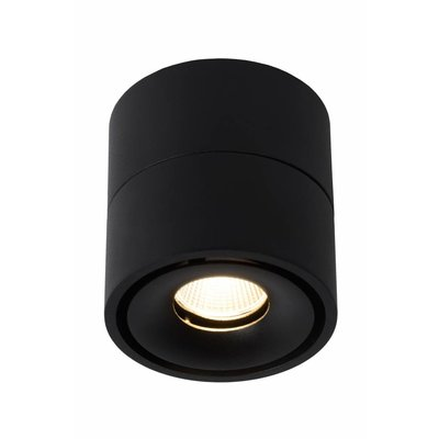 Lucide LED Ceiling Spotlight YUMIKO dimmable black 35911/08/30