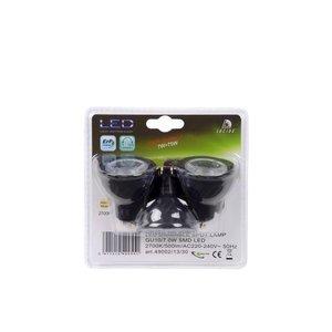 Lucide set 3x7W GU10 LED spots dimmable