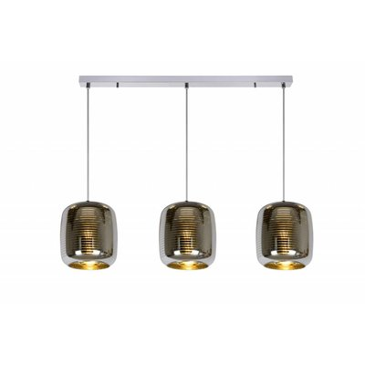 Lucide ERYN hanging lamp Chrome 70483/03/11