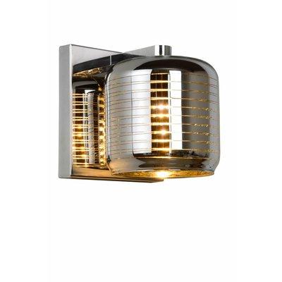 Lucide ERYN wandlamp Chroom 70284/01/11