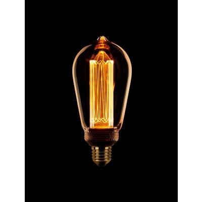 ETH Lampe à LED E27 Retro Filament ST64 DIM 3.5 / 13W