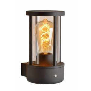 Lucide LORI - Wall lamp Outdoor - Ø 12 cm - 1xE27 - IP44 - Anthracite -14893/01/30