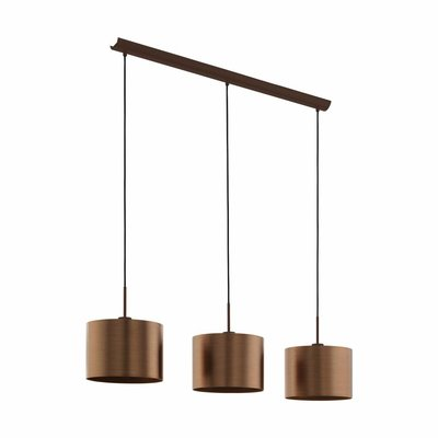 EGLO Hanging lamp SAGANTO 39357 brown / copper
