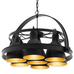 EGLO Vintage hanging lamp Backbarrow 49682