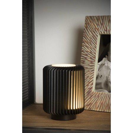 Lucide Lampe de table TURBIN LED 5W noire 26500/05/30