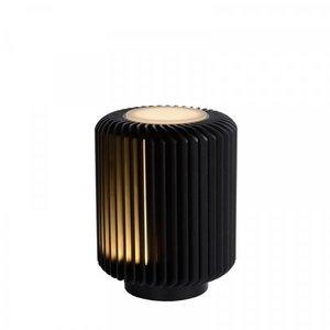 Lucide TURBIN - Table lamp - Ø 10.6 cm - LED - 1x5W 3000K - Black - 26500/05/30
