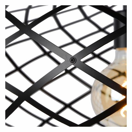 Lucide hanglamp WOLFRAM zwart 21417/65/30
