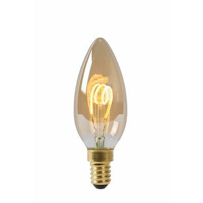 Lucide Lampe à filament à LED E14 Dimmable ambre