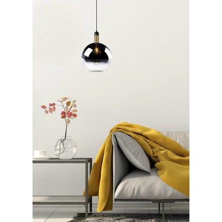Lucide hanging lamp JULIUS 28cm fumé 34438/28/65