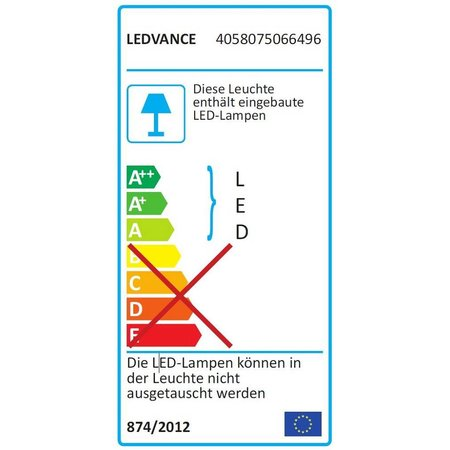 OSRAM Ledvance DampProof Slim Value 1500 50W IP65