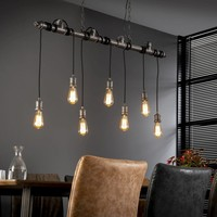 Industrial pendant light 7L industrial tube 120cm 7254