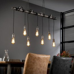LioLights Industrial pendant light 7L industrial tube 120cm 7254