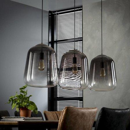 LioLights Vintage hanging lamp 3xØ32 shaded 7250