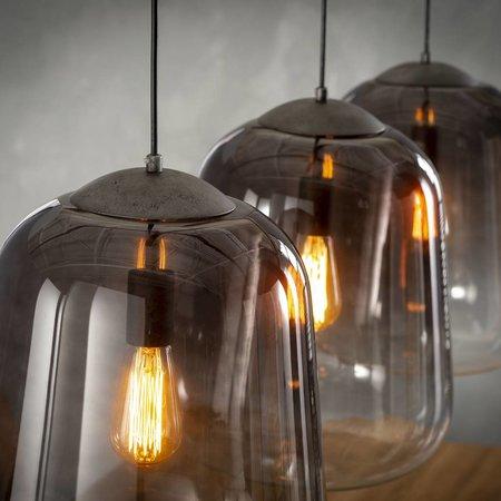 LioLights Vintage hanglamp 3xØ32 shaded 7250