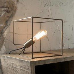 LioLights Table lamp Cube bronze antique 8064