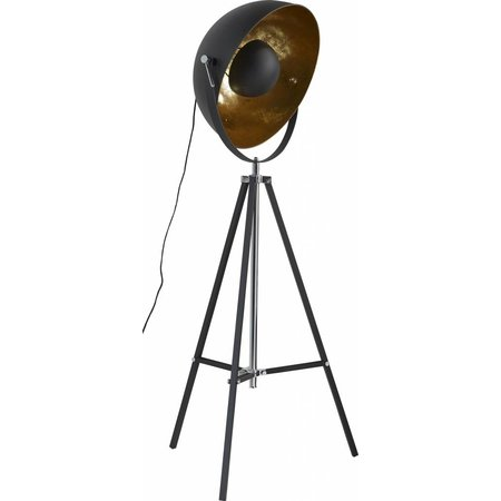 LioLights Vloerlamp 1L 3-poot schijnwerper 8070