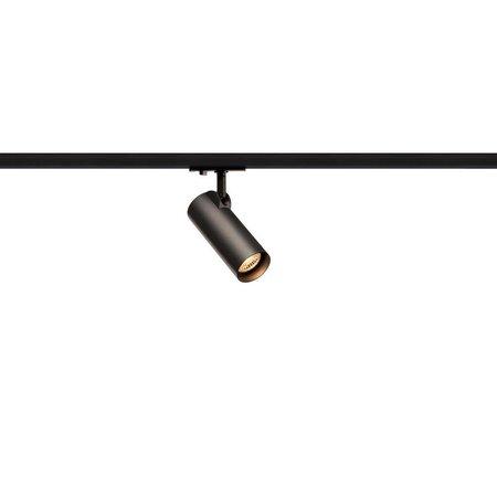 Enkelfasige LED railspot HELIA 50 zwart 143580