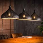 LioLights Lampe suspendue vintage 3xØ32 entonnoir à punch
