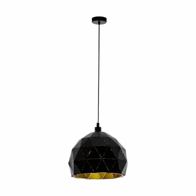EGLO ROCCAFORTE hanging lamp black / gold 97845