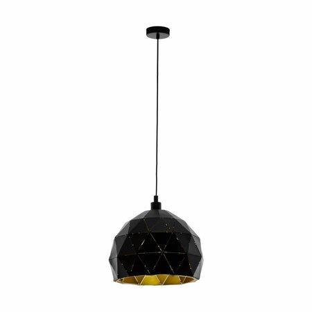 EGLO ROCCAFORTE hanging lamp black / gold 97845