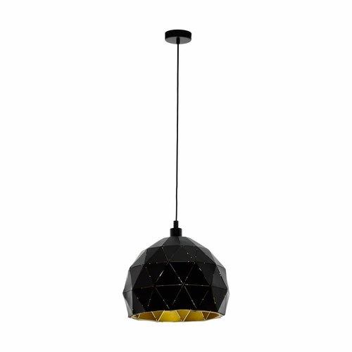 EGLO ROCCAFORTE hanglamp zwart/goud 97845