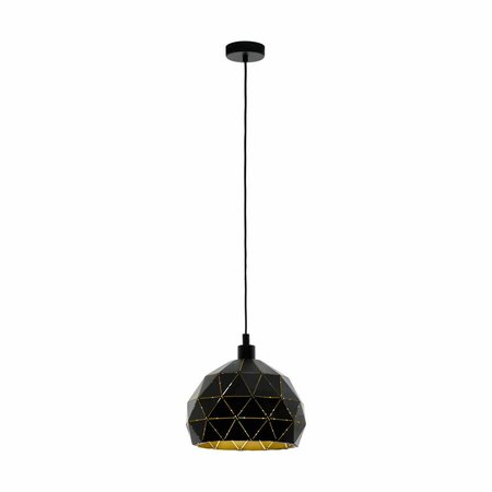 EGLO ROCCAFORTE hanging lamp black / gold 97841