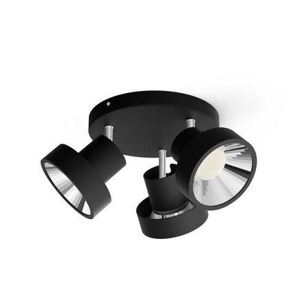 Philips LED wand/ Plafondspot myLiving Bukko 3-lichts
