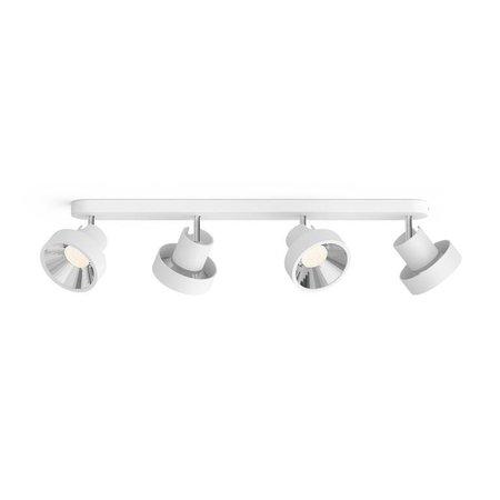 Philips LED wall / Ceiling spot myLiving Bukko 4-light