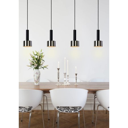 Lucide Hanglamp TEUN zwart 45471/04/30