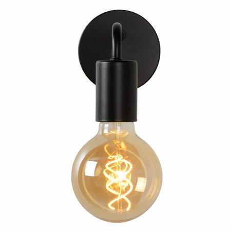 Lucide Vintage Wandlamp SCOTT Zwart 45265/01/30