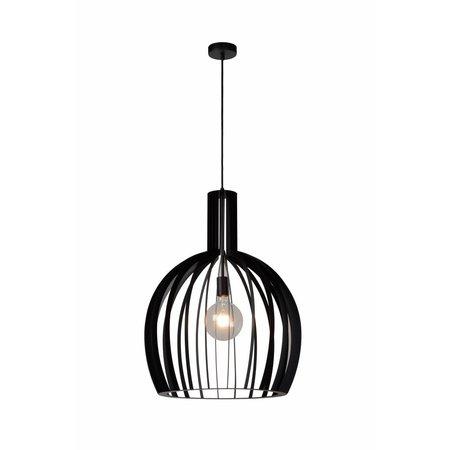 Lucide Hanglamp Mikaela zwart Ø 50 cm 73400/01/30