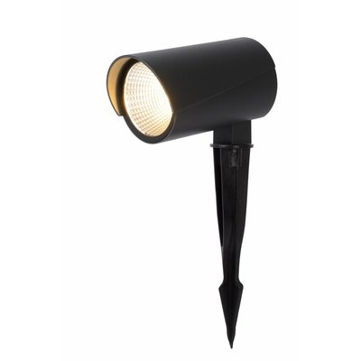 Lucide Spot de sol MANAL - LED - Noir - 12W - 27897/12/29