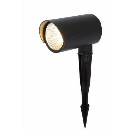 Lucide Grondspot MANAL - LED - Zwart - 12W - 27897/12/29