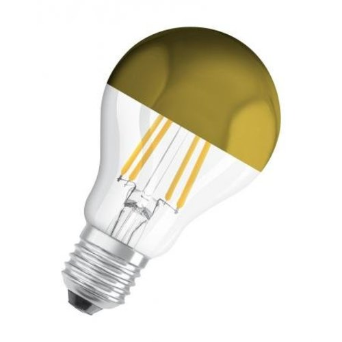Wever & Ducré Mirro QA60 LED lamp E27 Gold 6W