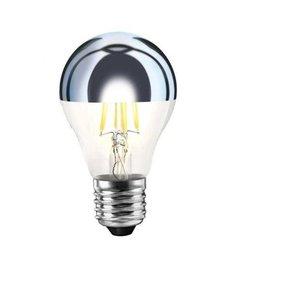 Wever & Ducré Mirro QA60 LED lamp E27 Silver 6W