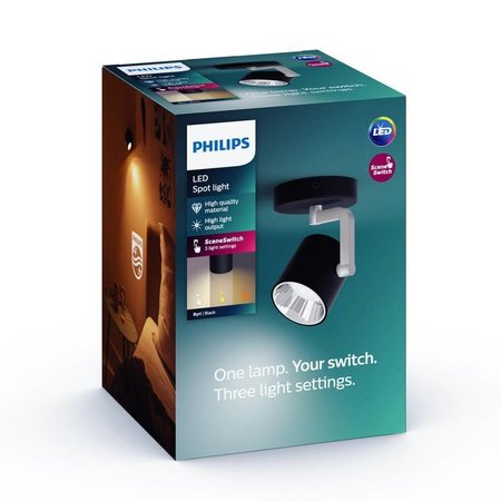 Philips LED wall / ceiling spot myLiving Byrl