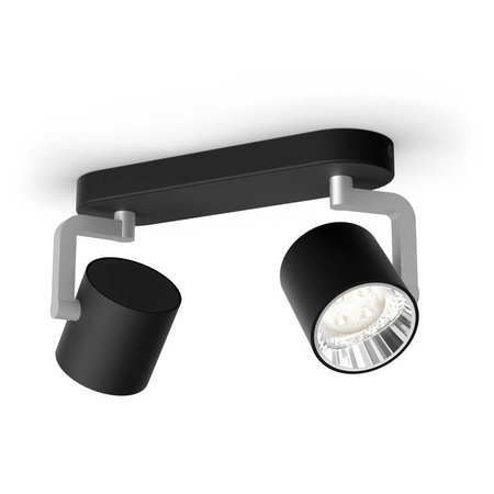 Philips LED wall / ceiling spot myLiving Byrl 2-light
