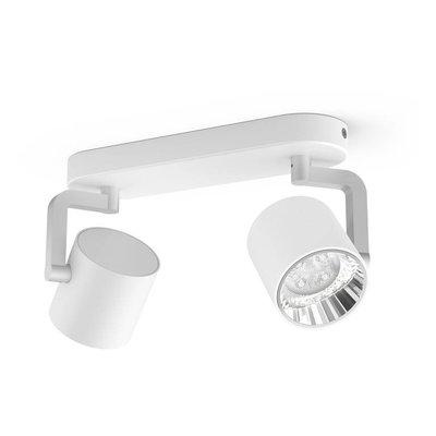 Philips LED wall / ceiling spot myLiving Byrl 2-light