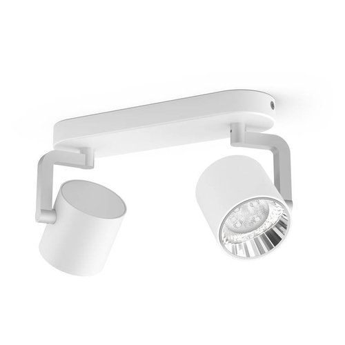 Philips LED wand/ Plafondspot myLiving Byrl 2-lichts