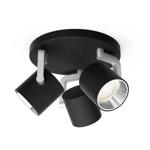 Philips LED wand/ Plafondspot myLiving Byrl 3-lichts