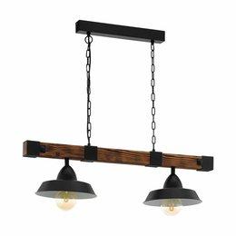 EGLO Vintage Hanging lamp OLDBURY 49684