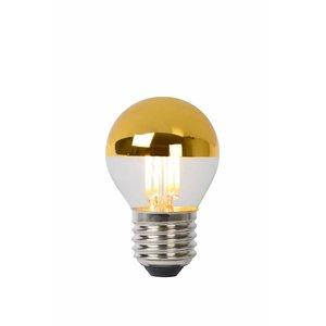 Lucide E27 LED filament lamp 4W DIM Goud