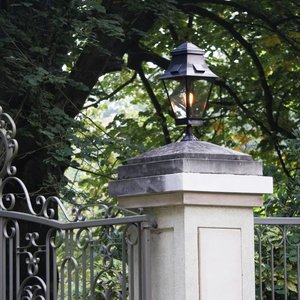 Authentage verlichting Lampadaire rural Gracious Normal on Foot 1L outdoor