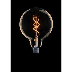 ETH Ampoule LED à filament rétro E27 G125 DIM 4 / 25W 2200 ° K Or