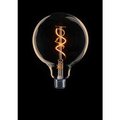 ETH E27 Retro Filament LED bulb G125 DIM 4 / 25W 2200 ° K Gold