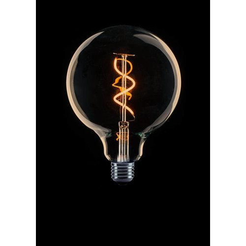 ETH E27 Retro Filament LED bulb G125 DIM 4 / 25W 2200 ° K Gold