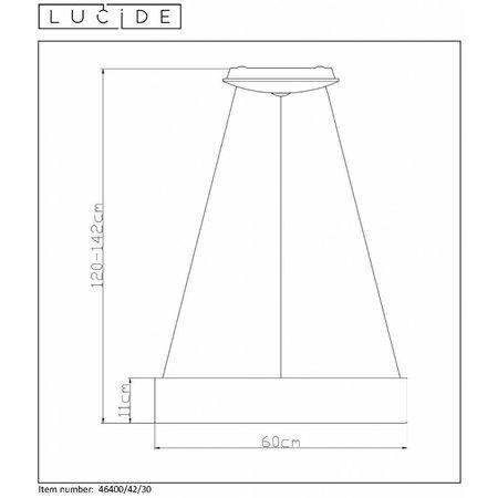 Lucide TEARS LED hanging lamp Ø 11,5 cm 70434/28/67 - Copy