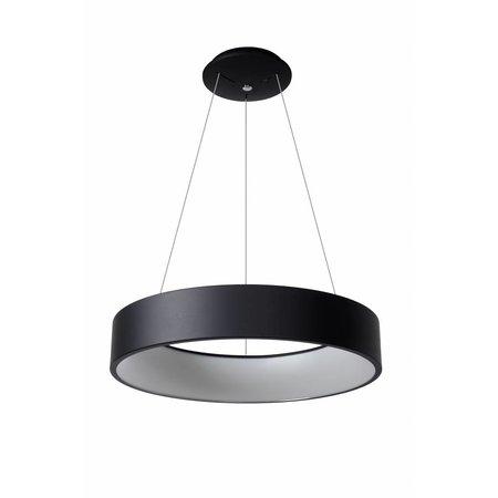 Lucide TALOWE LED hanglamp Ø 60 cm zwart 39W