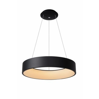 Lucide TALOWE LED hanging lamp Ø 60 cm black 39W
