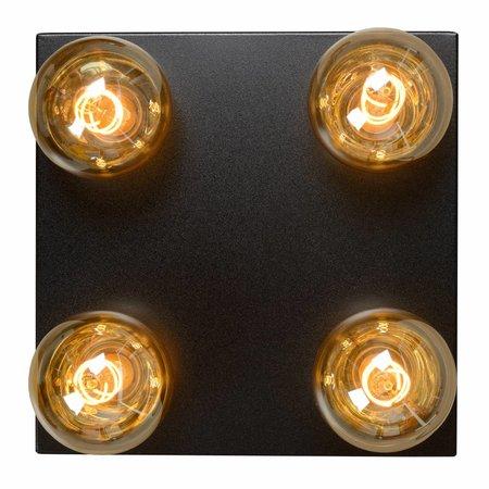 Lucide Ceiling light SURTUS black 30174/04/30
